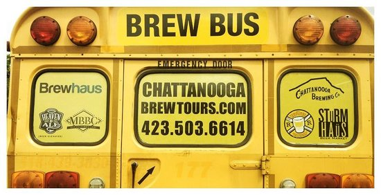 Chattanooga Brew Tours: The Magic Brew Bus.