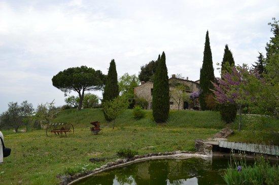 Azienda Agraria Miscianello : vista sull'hotel