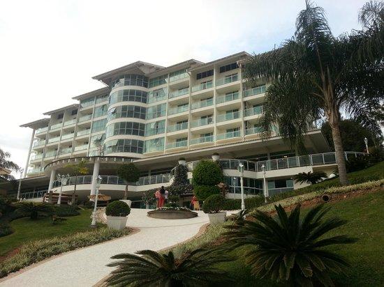 Fazzenda Park Hotel: Essa é a vila dos peixes, com os melhores apartamentos