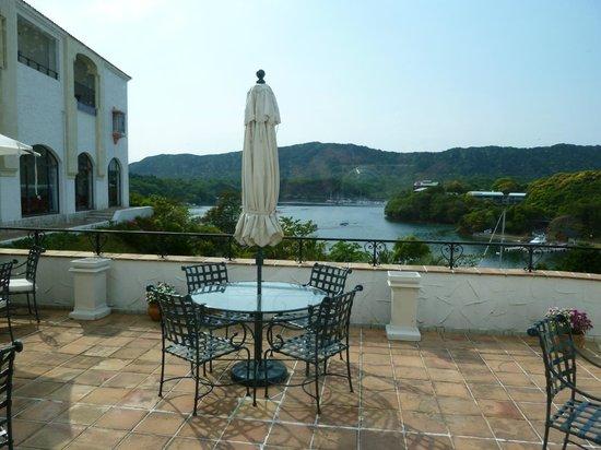 Prime Resort Kashikojima: カフェラウンジからの眺め