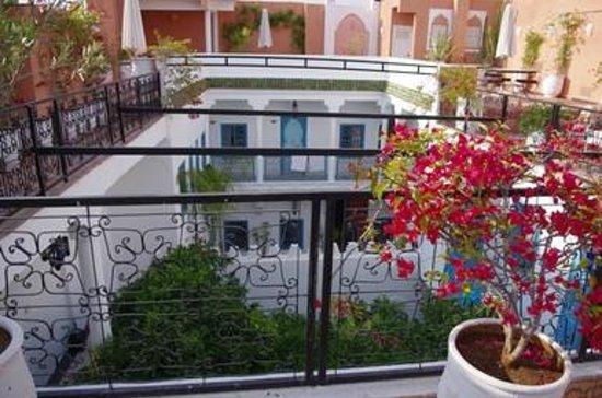 Riad Chamali: Vue de la terrasse