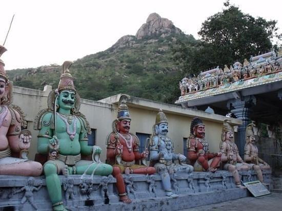Thiruvannamalai, الهند: pachai Amman temple