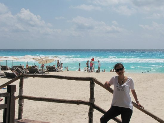ME Cancun: In Front of the Beach by Breakfast Restaurant