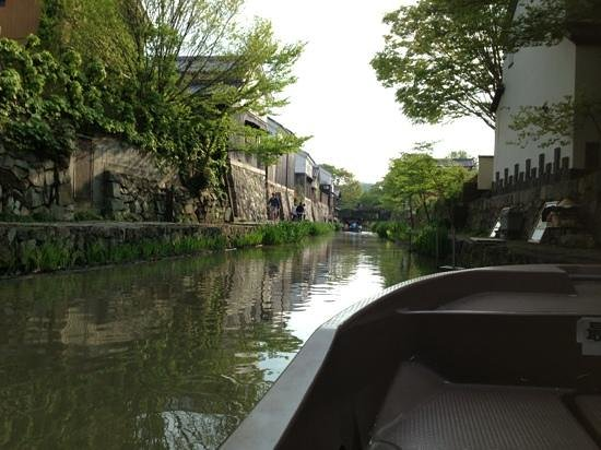 Omihachiman, Япония: 風が薫る。boating is beautiful experience.