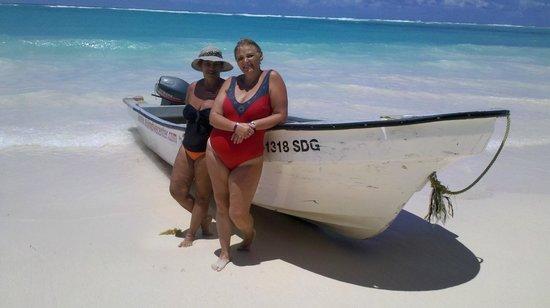 Grand Palladium Punta Cana Resort & Spa: mi amiga y yo en el ultimo dia de playa