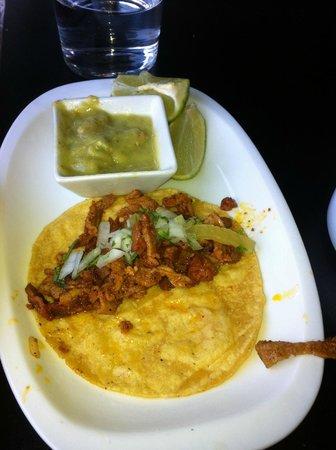 Central Mexicana Restaurante&Tequila: Tacos del pastor