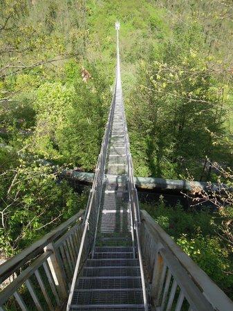 Ponte Sospeso di San Marcello Pistoiese: ponte sospeso