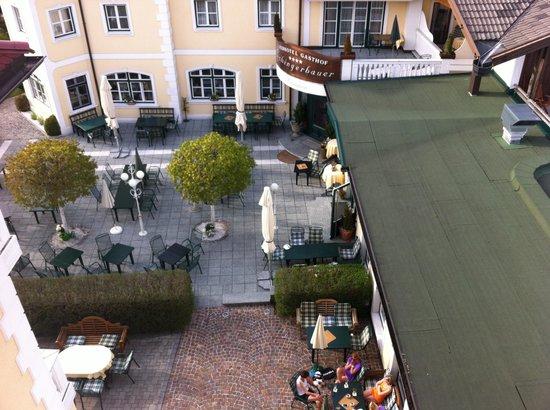 Landhotel Marienschlossl Eichingerbauer: Eichingerbauer Aussensitzplatz