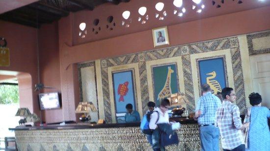 AVANI Victoria Falls Resort: the recption office