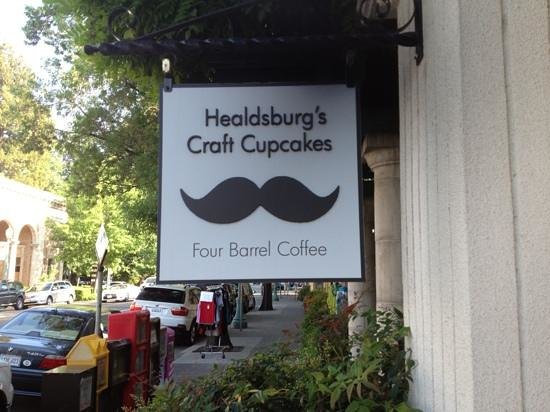 Moustache Baked Goods : front signage