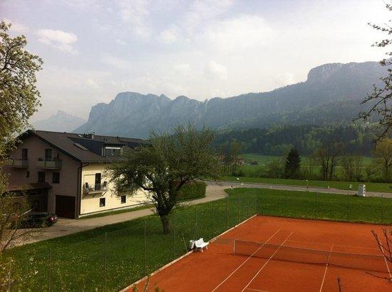 Landhotel Marienschlossl Eichingerbauer: Ausblick Drachenwand