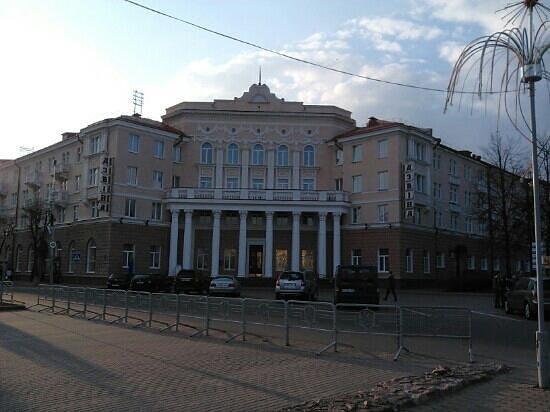 Polotsk, Belarus: главный вход