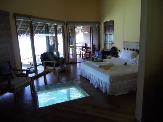 Ранналхи: chambre water villa