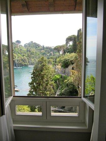 Hotel Piccolo Portofino: Vista dalla camera