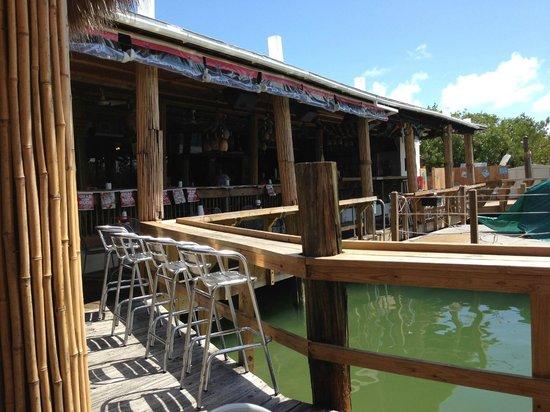 Hog Heaven Sports Bar & Grill : The Back Deck at Hog Heaven