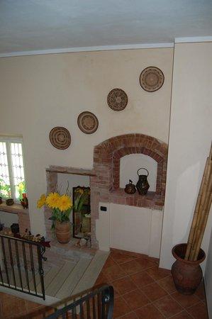 Borgo Piaggiarella: la scala d'accesso alle stanze