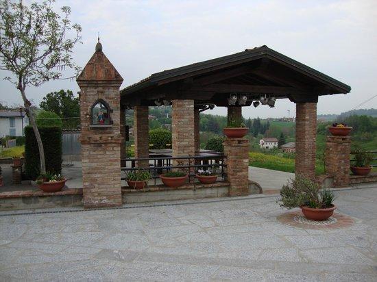 Castelvetro di Modena, Italien: esterno agriturismo