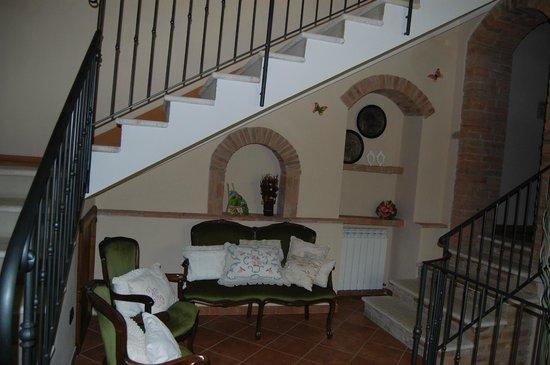 Borgo Piaggiarella: il salottino del 1° piano
