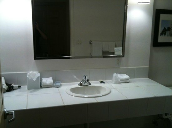 Bathroom Sinks Orlando bathroom sink and side - picture of four pointssheraton