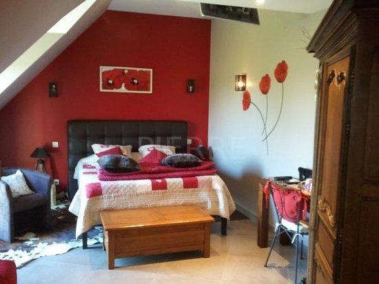 Clos des Pommiers : une des chambres