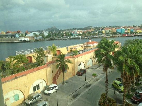 Plaza Hotel Curacao: Vista desde la Habitacion