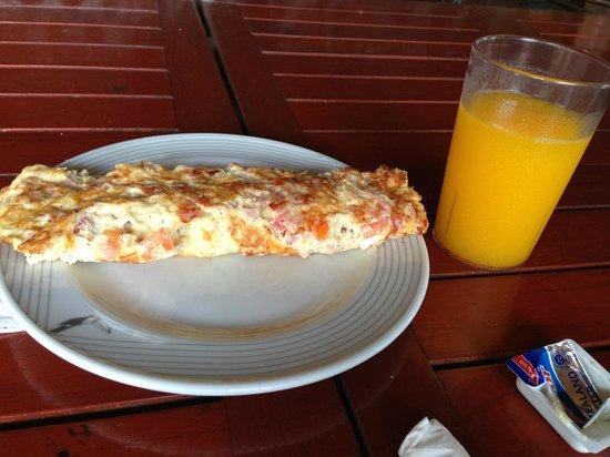 Plaza Hotel Curacao: Desayuno