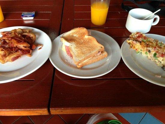 Plaza Hotel Curacao: Desayunos
