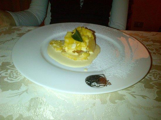 Villa Quiete: tortino di ananas