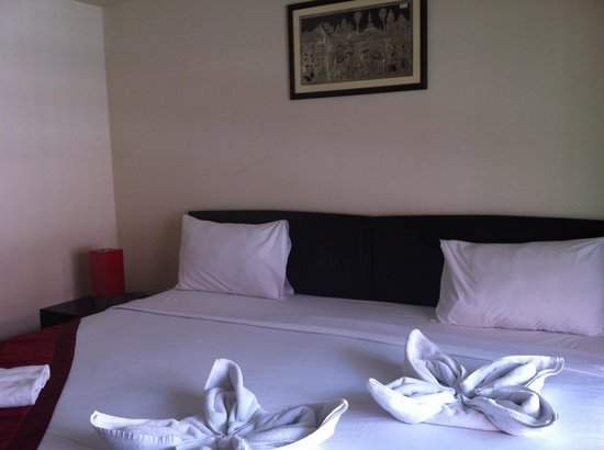 Silver Resortel: Room interior, u can asked for smoking or non smoking room :)