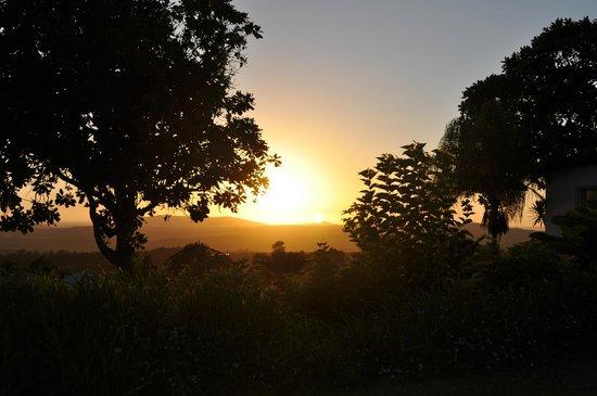 Plumbago Guest House: Sonnenaufgang auf Plumbago