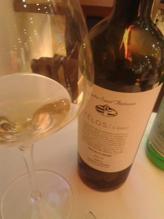 Ristorante Al Cristo: un vino ...garganega biologico