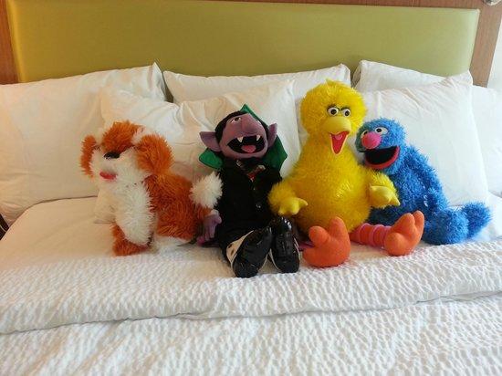 SpringHill Suites Philadelphia Langhorne: Enough room for all the Sesame Friends to enjoy!
