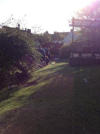 The White Hart: garden