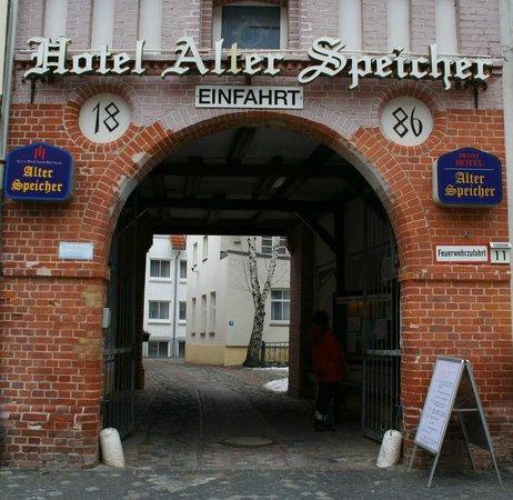 City Partner Hotel Alter Speicher: zum Parkdeck