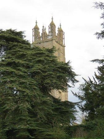 Thornbury Castle and Tudor Gardens: Church next door