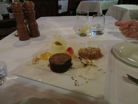 Thornbury Castle and Tudor Gardens: Dessert for sharing