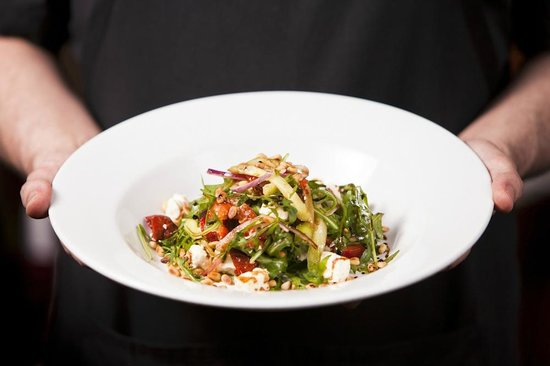 The Cow Shed : Crayfish and cucumber salad