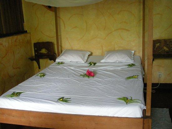 Hôtel Aladabo : intérieure du bungalow