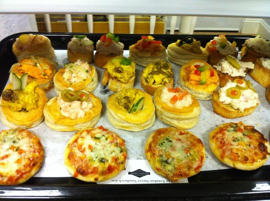 The London Street Sandwich Company: one of our corporate platters