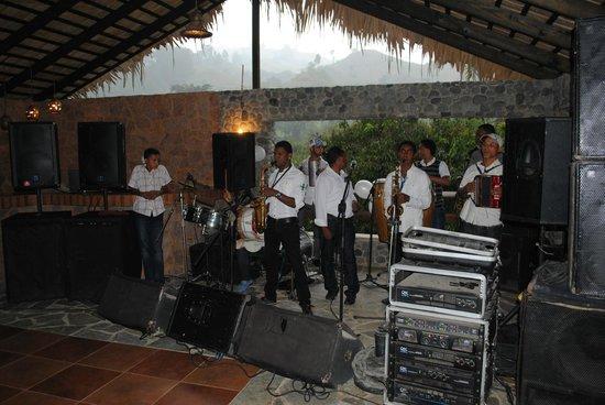 Rancho Las Guazaras: Live Band Set-Up
