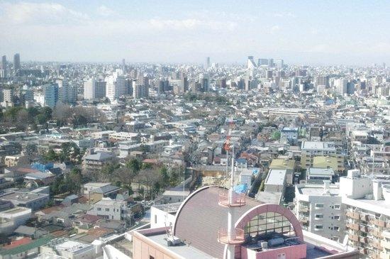 โรงแรมเมโทรโพลิแทนโตเกียว: Vue depuis une chambre du 25ème étage