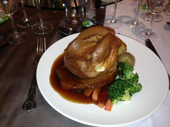 Grosvenor Pulford Hotel & Spa: Roast beef wedding breakfast