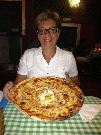 La Voglia Matta: ca c'est une pizza normale!