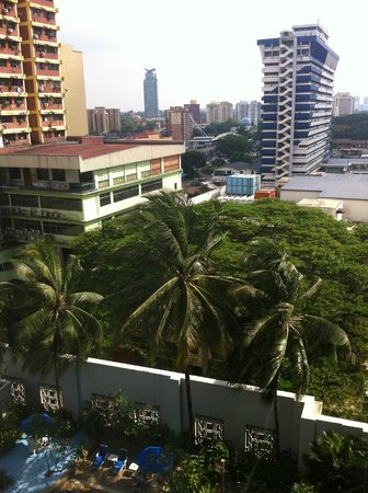 Royale Chulan Bukit Bintang: View from the room