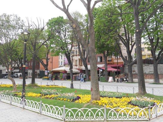 Sultanahmet District: decoro urbano perfetto a istambul