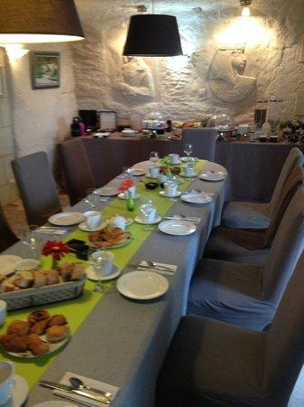 Troglododo : Buffet Breakfast