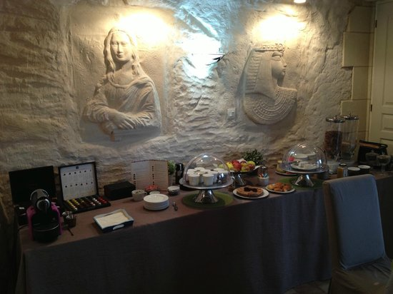 Troglododo : Breakfast room