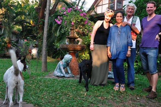 Secret Garden Chiang Mai : Peter und Pai und wir.