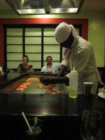 Grand Bahia Principe Punta Cana: Japanese restaurant