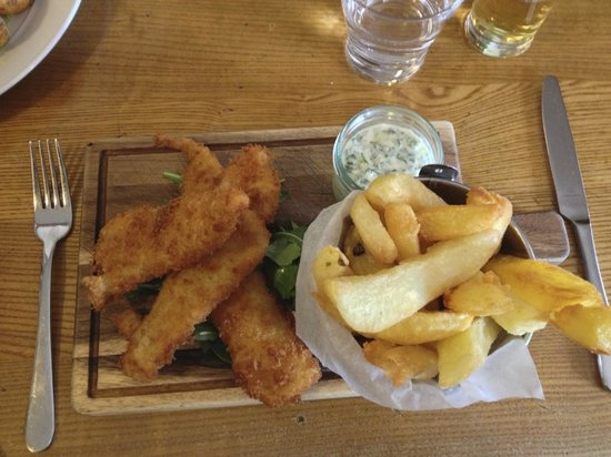 Hole in the Wall: My Sole Goujons and Chips!